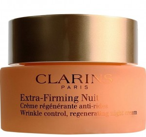 CLARINS Extra-Firming Nuit Wrinkle Control, Regenerating Night Rich Cream  für trockene Haut 50ml