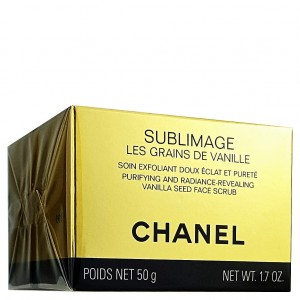CHANEL Sublimage Les Grains de Vanille Purifying and Radiance Revealing Vanilla Seed Face Scrub 50ml